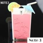 เคส note 3 Case Samsung Galaxy note 3 ซิลิโคนแก้วเครื่องดื่มคอกเทลซัมเมอร์ๆ สุดๆ ราคาส่ง ขายถูกสุดๆ