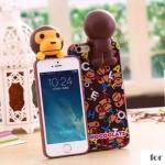 case iphone 5s / 5 พลาสติกลายมิเนี่ยนเกาะเคสน่ารักมากๆ ราคาส่ง ขายถูกสุดๆ -B-