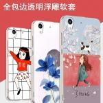 Case Huawei Y6II ซิลิโคน soft case แบบนิ่มสกรีนลายการ์ตูน กราฟฟิค น้องแมว ผลไม้ น่ารักมากๆ ราคาถูก (ไม่รวมสายคล้องและแหวน)
