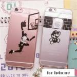 เคส iphone 5s / 5 ซิลิโคน TPU โปร่งใสสกรีนลายสุดแนว ราคาส่ง ขายถูกสุดๆ