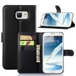 Case Samsung Galaxy Note 5 แบบฝาพับหนังเทียมแบบมีที่ใส่บัตร ในธนบัตร การ์ด เป็นได้ทั้งเคสและกระเป๋าสตางค์ ราคาถูก