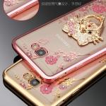 เคส Samsung J5 Prime ซิลิโคนแบบเคสนิ่มเงางามสวยหรู พร้อมแหวนสำหรับตั้งมือถือ ราคาถูก (ไม่รวมสายคล้อง)
