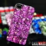 case iphone 5 เคสไอโฟน5 เคสประดับผลึกคริสตัลหินสีอำพันเม็ดใหญ่ๆ สวยๆ เว่อร์ๆ อลังการ 3D Crystal meteorite iphone5