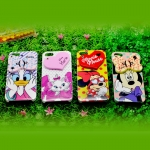 case iphone 4/4s เคสไอโฟน4/4s Disney cartoon Mickey Mouse Minnie Mouse Donald Duck เปิดเป็นกระจกได้