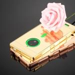 เคส Nokia Lumia 830 ขอบเคสโลหะ Bumper + พร้อมแผ่นฝาหลังเงางามสวยจับตา ราคาถูก