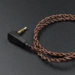 ขาย KZ Copper สาย OFC ถัก ขั้ว 2 pin สำหรับหูฟัง KZ ZST/ED12/ES3/ZSR/ZS10/ZS3/ZS4/ZS5/ZS6