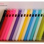 case iphone 5 เคสไอโฟน5 เคสซิลิโคน TPU นิ่มๆ ไม่ทำให้ตัวเครื่องเป็นรอย สีหวานๆ เงาๆ love crazy the iphone5 Korean candy colored silicone phone protective sleeve soft shell