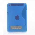 Case iPad mini เคสไอแพดมินิ เคสซิลิโคนโปร่งแสง ลายรูปตัว S นิ่มๆ สวยๆ