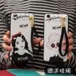 เคส Huawei Y6II พลาสติก TPU ยืดหยุ่นได้ สกรีนลายสวยงามพร้อมสายคล้องในตัว คุ้มค่ามาก ราคาถูก