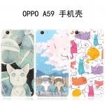 Case OPPO F1s ซิลิโคน soft case แบบนิ่ม สกรีนลายการ์ตูนน่ารักมากๆ ราคาถูก