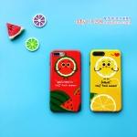 เคส iPhone 7 (4.7 นิ้ว) พลาสติกลายผลไม้สีสันสดใสน่ารักๆ ราคาถูก
