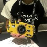 เคส Huawei P9 ซิลิโคนรูปกล้องถ่ายรูปสุดเท่ ตรงเลนส์สามารถยืดออกมาตั้งได้ พร้อมสายคล้อง ราคาถูก