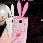 เคส Huawei GR5 ซิลิโคน TPU กระต่ายน้อยประดับคริสตัล สวยงามมาก ราคาถูก