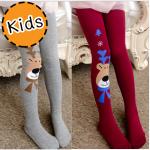 [ไซส์เด็ก] K6087 เลกกิ้งเด็ก ลายกวางเรนเดียร์น้อย น่ารักค่ะ Little Reindeer