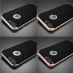 เคสไอโฟน7 พลาสติก PC+TPU ด้านหลังลายเทปร่าขอบเคสเงางาม ราคาถูก