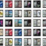 film iphone 4/4s ฟิล์มกันรอยไอโฟน4/4s ฟิล์มกันรอยหน้าหลัง ลายดอกไม้ วิว ผีเสื้อ ลายการ์ตูน adidas หลายลาย สวยๆ แนวๆ