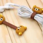 ที่เก็บสายหูฟัง ที่เก็บสายชาร์ต ตัวการ์ตูนน่ารักๆ Angry birds Paul frank Hello Kitty Disneys Rilakkuma (1 Pack มี 2 ชิ้น) -B-