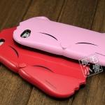 case iphone 5 เคสไอโฟน5 3D เคสหน้าน้องแมวน่ารักมากสีสันสดใสสวยๆ หวานแหววสุดๆ TPU iphone5 big cat face protection
