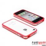case iphone 4s 4 เคสไอโฟน4s 4 Griffin ขอบ Bumper ซิลิโคน สี-ใส นิ่มๆ บางๆ Griffin ultra-thin silicone border protective