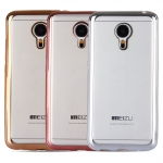 Case Meizu MX5 ซิลิโคน TPU โปร่งใสขอบเงางาม ราคาถูก