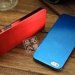case iphone 5 เคสไอโฟน5 เคสโลหะไทเทเนียมอัลลอย แบบบางเฉียบ บางพิเศษเพียง 0.3 มิลลิเมตร ใส่แล้วสวยเท่ดูดีสุดๆ บุกำมะหยี่ด้านในเพื่อป้องกันการเป็นลอย Ultra-thin 0.3 titanium alloy iPhone5