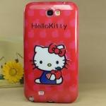 Case Samsung Galaxy Note 2 My Melody Hello Kitty Little Twin Star ซิลิโคน TPU ผิวเงาๆ นิ่มๆ สวยๆ น่ารักๆ เคสมือถือราคาถูกขายปลีกขายส่ง -B-
