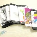 case iphone 5 เคสไอโฟน5 เคสพลาสติกแบบสวม 3 ชิ้น ลายแนวๆ สวยๆ อาร์ต ดูนุ่มๆ นมๆ ขอบมนๆ iPhone5 milk protective three-dimensional