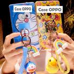 Case OPPO R7 Lite / R7 พลาสติก TPU ลายการ์ตูนพร้อมที่ห้อยเข้าชุดน่ารักๆ ราคาถูก