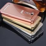 เคส Asus ZenFone Go TV (ZB551KL) ขอบเคสโลหะ Bumper + พร้อมแผ่นฝาหลังเงางามสวยจับตา ราคาถูก