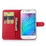 เคส Samsung J7 แบบฝาพับด้านข้างหนังเทียมสีพื้นคลาสสิค ด้านในสามารถใส่บัตรได้ควรมีไว้สักอัน ราคาถูก