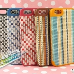 case iphone 5 เคสไอโฟน5 เคสถักทองานสานลายเสื่อปราณีตสวยงาม น่ารักๆ Real 3D woven