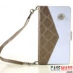 เคส Note 2 Case Samsung Galaxy Note 2 II N7100 เคสหนังทำเป็นกระเป๋าถือ ใส่บัตรได้ สวยๆ ไฮโซ Ms. wallet handbag