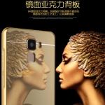 เคส Huawei Honor 7 ขอบเคสโลหะ Bumper + พร้อมแผ่นฝาหลังเงางามสวยจับตา ราคาถูก