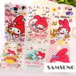 เคสซัมซุง S5 Case Samsung Galaxy S5 TPU dkiN9^o Melody Sanrio ทวินลิตเติ้ลสตาร์ น่ารักมากๆ