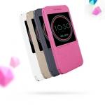 Case HTC 10 (HTC M10) แบบฝาพับประกายไหม NILLKIN โชว์หน้าจอด้านบน ราคาถูก
