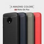 เคส MOTO G6 Plus ซิลิโคนสีพื้นสวยงามมาก ราคาถูก