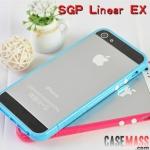 case iphone 5 เคสไอโฟน5 ขอบเคสสีสวยมีปุ่มกดตัดสี Linear EX Korea SGP border