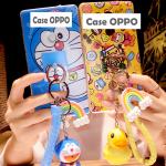 Case OPPO F1s พลาสติก TPU ลายการ์ตูนพร้อมที่ห้อยเข้าชุดน่ารักๆ ราคาถูก