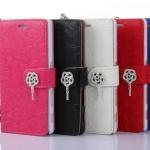 เคส Sony Xperia Z5 แบบฝาพับหนังแก้วลายดอกไม้แสนหวาน ราคาถูก