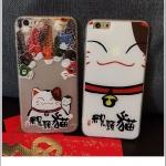 เคส iPhone SE / 5s / 5 พลาสติกแมวกวักนำโชค ปลานำโชค ราคาส่ง ขายถูกสุดๆ