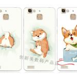 เคส Huawei GR3 ซิลิโคน soft case แบบนิ่ม สกรีนลายน้องหมาแสนน่ารัก ราคาถูก