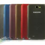 เคส Note 2 Case Samsung Galaxy Note 2 II N7100 เคสพลาสติกโปร่งแสงบางเฉียบ protection shell. 0.5mm ultrathin