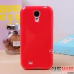 เคส S4 Case Samsung Galaxy S4 i9500 เคสซิลิโคน TPU นิ่มๆ บางๆ สีหวานๆ เงาๆ สวยๆ silicone mobile phone shell protective cover TPU soft shell