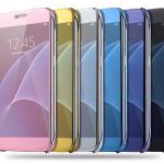 เคส Samsung S7 Edge แบบฝาพับสวย หรูหรา สวยงามมาก ราคาถูก