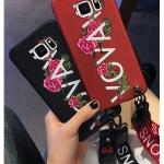 เคส Samsung Note 5 พลาสติกสกรีนลายดอกไม้ สวยงามมาก ราคาถูก (แบบสั้นหรือยาวแล้วแต่ร้านจีนแถมมา)