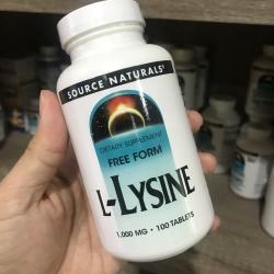 Source Naturals, L-Lysine, 1,000 mg, 100 Tablets