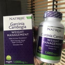 # เร่งเผาผลาญ # Natrol, Garcinia Cambogia Extract, Appetite Intercept, 120 Capsules