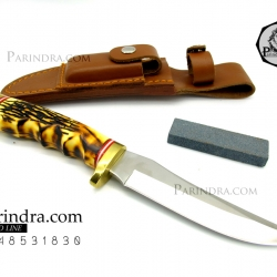 มีดใบตาย SCHRADE Uncle Henry 153UH Golden Spike Hunting Knife