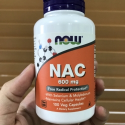 Now Foods, NAC, Critical Antioxidant, 600 mg, 100 Vcaps