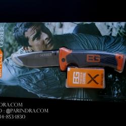 มีดพับ GERBER BEAR GRYLLS รุ่น Folding Sheath Knife รุ่นยอดนิยม (OEM) ใบเรียบ